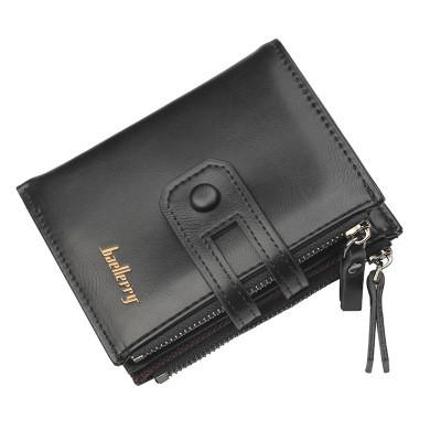 Мужской Кошелек Бумажник Baellerry (D3206) Черный