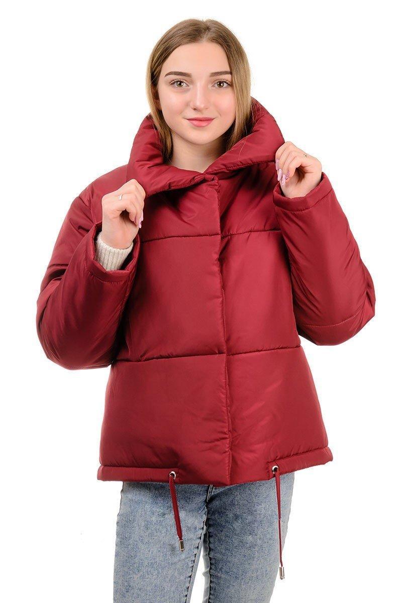 Женская короткая демисезонная куртка Зефирка