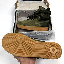 """Кроссовки Nike Air Force 1 High Special Field SF 1 """"Green"""" (Зеленые), фото 3"""