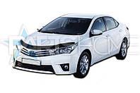 Дефлектор Капота Мухобойка Toyota Corolla с 2013 г.в.