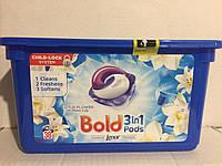 Bold капсулы для стирки 3в 1 ,  Лотос и Лилия, 38 шт.