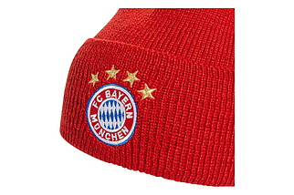 Шапка Adidas FC Bayern Woolie DY7680 Красный (4060512231527), фото 2