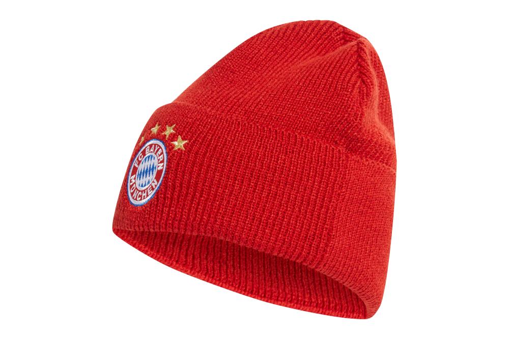 Шапка Adidas FC Bayern Woolie DY7680 Красный (4060512231527)