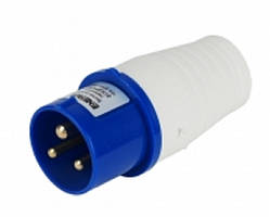Вилка переносна ВП 16A 2P+PE (013)  220V IP44 ENERGIO