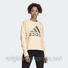 Свитшот женский adidas ID Glam Sweatshirt DZ8679 2019/2