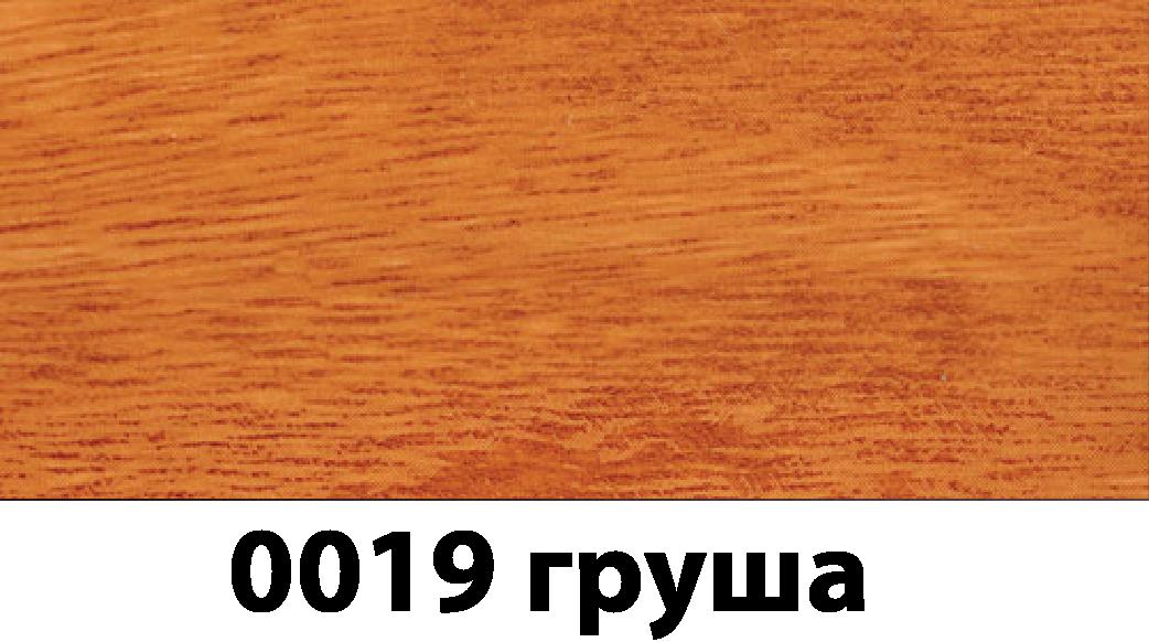 Плинтус с кабель каналом с прорезиненными краями 56х18мм 2,5м Тис груша
