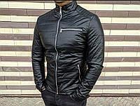 Осенняя Кожаная куртка в стиле philipp plein armani эко-кожа