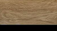 Плинтус с кабель каналом с прорезиненными краями 56х18мм 2,5м Тис тик, фото 1