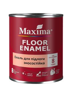 Эмаль для пола износостойкая Maxima