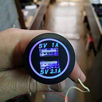 Зарядное устройство для телефона с USB на два порта