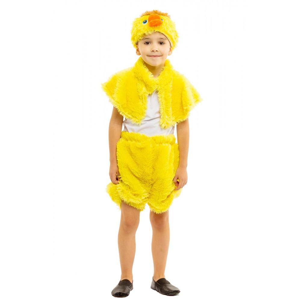 Карнавальный костюм Утенка для детей от 3 до 7 лет