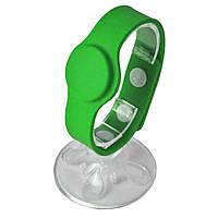 RFID браслет силиконовый з чипом Mifare 1K с застежкой, 5 шт., Ardix B271, зеленый, 04-009-GR