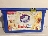 Bold капсулы для стирки 3в 1 ,  Орхидея, 38 шт.