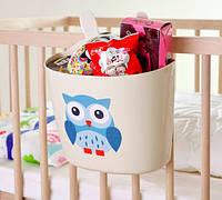 Детский органайзер для кроватки
