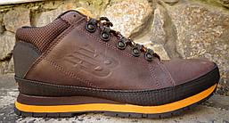 Кроссовки зимние H754BY мужские (кожаные) оригинал, фото 2