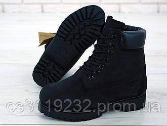 Женские ботинки Timberland демисезонные (черный)