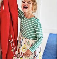Детское платье в полоску на 1,5-2 и 6 лет