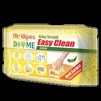 Влажные антибактериальные салфетки для уборки Mr.Wipes Лимон 40шт Фармаси