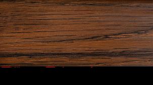 Плинтус с кабель каналом с прорезиненными краями 56х18мм 2,5м Тис орех, фото 2