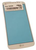 Стекло для переклейки дисплея LG K10, K430, K420, F670, M2 White