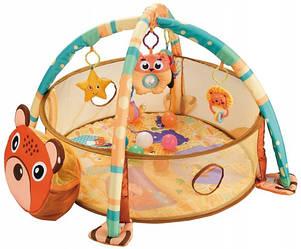 Детский развивающий коврик Happy Space Мишка JL629-1А