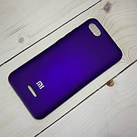 Чехол Silicone Case Xiaomi Redmi 6A Фиолетовый, фото 1