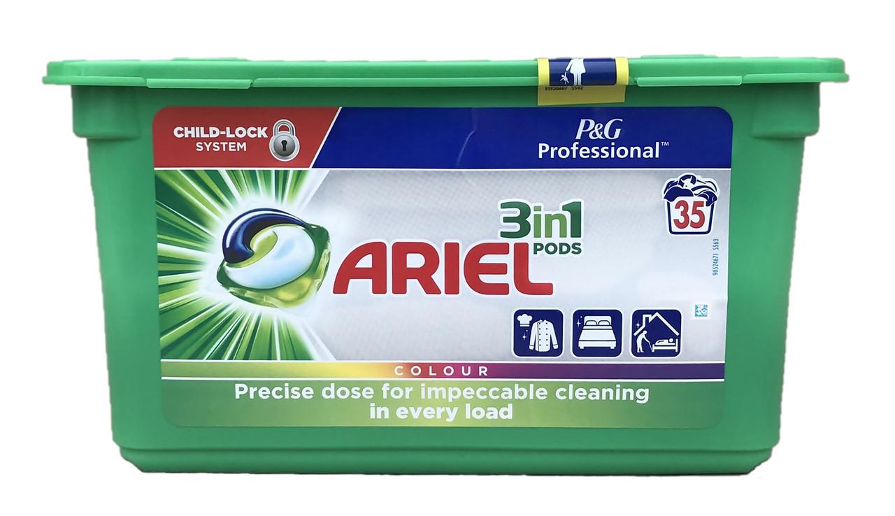 Капсули для прання кольорових речей ARIEL Pods 3в1 Color 35 шт