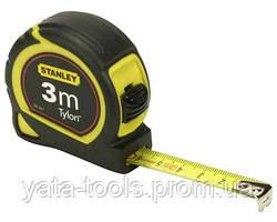 """Рулетка измерительная STANLEY """"Tylon™"""" в пластиковом корпусе,3м"""