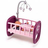 Кроватка с мобилем для пупса  Baby Nurse Smoby 220343