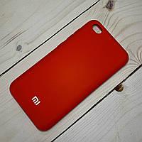 Чехол Silicone Case Xiaomi Redmi GO Красный, фото 1