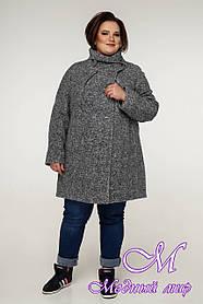 Женское пальто больших размеров (р. 54-68) арт. 12-08