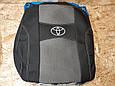Чехлы на Тойота Аурис (Toyota Auris) E150 2006-2012 / чехлы на сиденья (Nika), фото 2