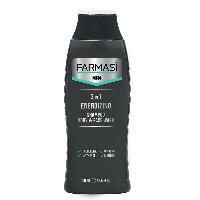 Мужской шампунь и гель для душа 3 в 1 Farmasi Man шампунь Фармаси