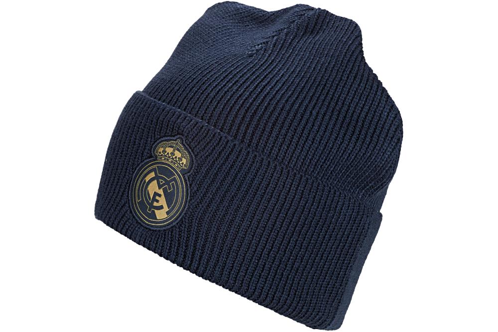 Шапка Adidas Real Madrid Woolie DY7726 Темно-синий (4060512214148)