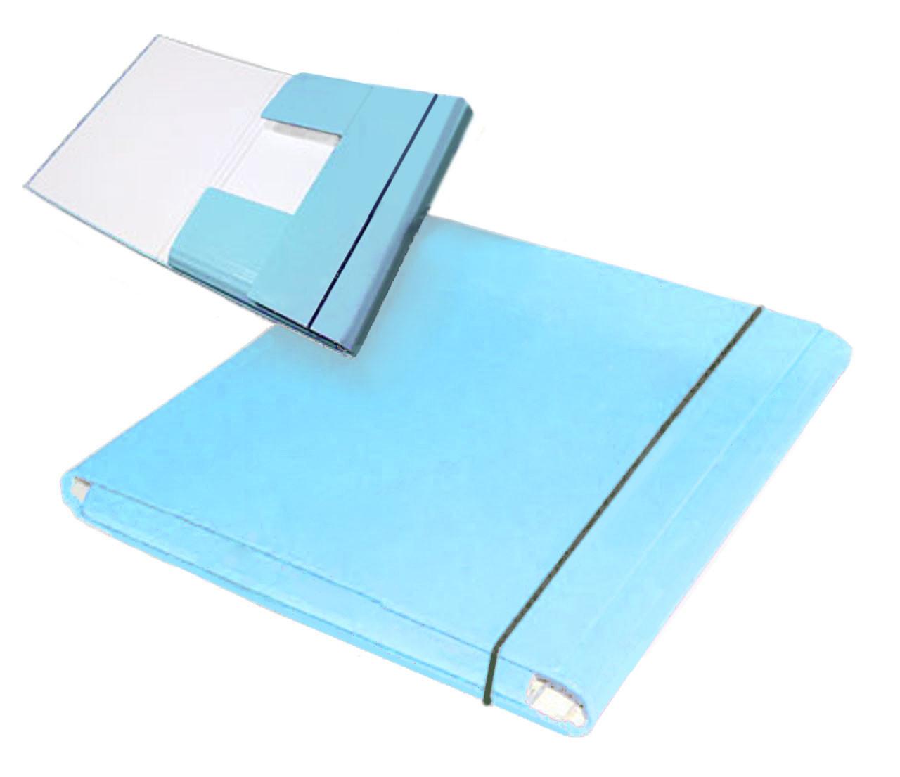 Папка-короб на резинке, А4, 25 мм, PP-покрытие