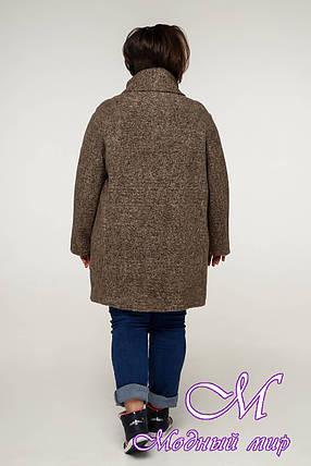 Пальто женское больших размеров осень весна (р. 54-68) арт. 12-08, фото 2