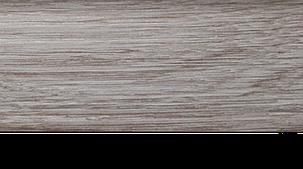 Плинтус с кабель каналом с прорезиненными краями 56х18мм 2,5м Тис дуб светлый, фото 2