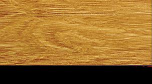 Плинтус с кабель каналом с прорезиненными краями 56х18мм 2,5м Тис дуб комо, фото 2