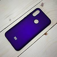 Силиконовый чехол Silicone Case Xiaomi Redmi 7 Фиолетовый