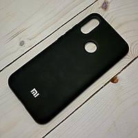 Чехол Silicone Case Xiaomi Redmi 7 Черный, фото 1
