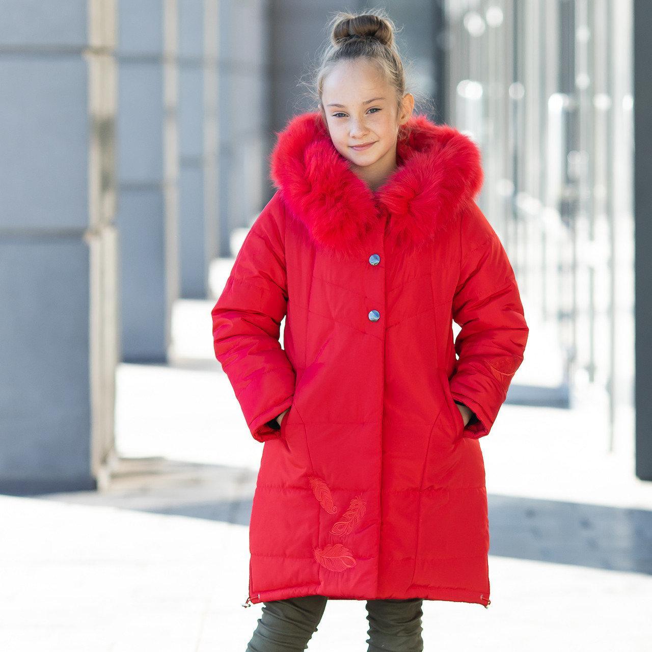 """Практичная стеганная курточка для девочки""""Шарм"""""""
