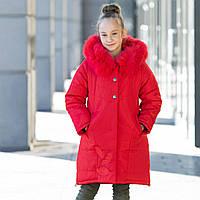 """Практичная стеганная курточка для девочки""""Шарм"""", фото 1"""