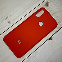 Чехол Silicone Case Xiaomi Redmi Note 7 Красный, фото 1