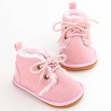 Теплые пинетки-ботиночки 13 см., фото 2