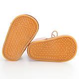Теплые пинетки-ботиночки 13 см., фото 5