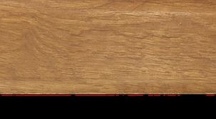 Плинтус с кабель каналом с прорезиненными краями 56х18мм 2,5м Тис дуб шервуд, фото 2