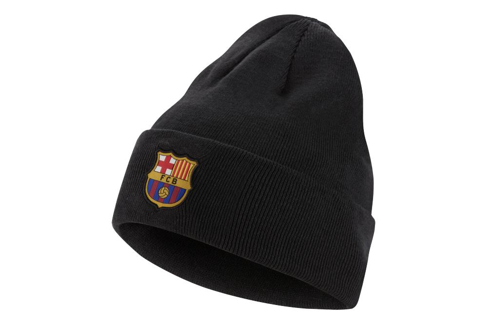 Шапка Nike FC Barcelona CK2299-065 Черный (193152330344)