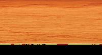Плинтус с кабель каналом с прорезиненными краями 56х18мм 2,5м Тис ольха