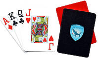 Карты покерные Пластик Shark