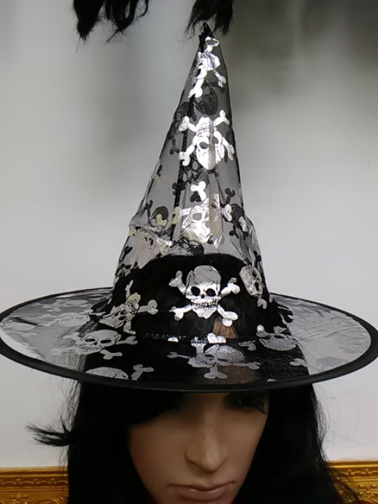 Шляпа ведьмы детская и подростковая